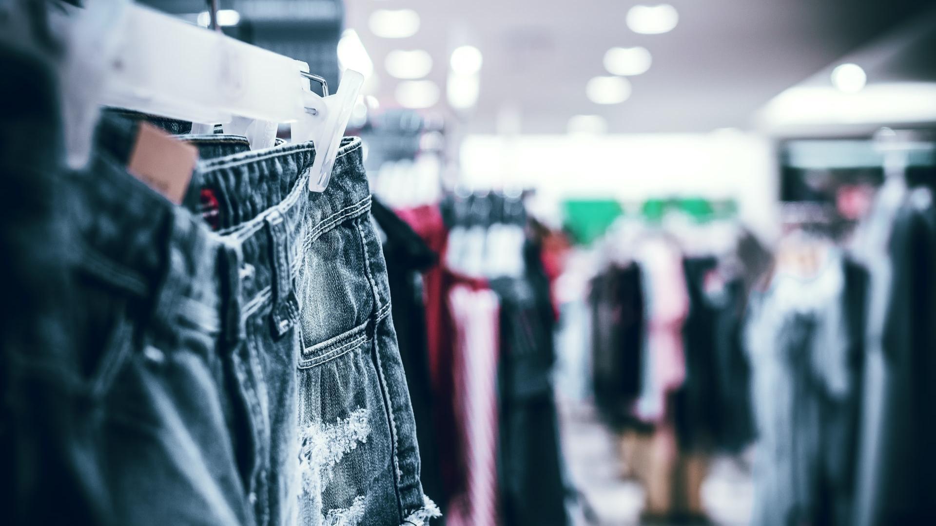 Fast Fashion Modegeschäft