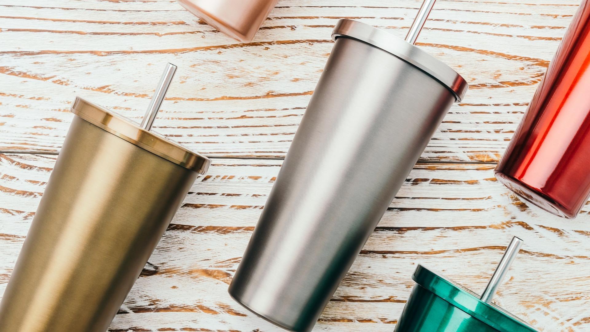 edelstahl becher kaffee to go nachhaltig