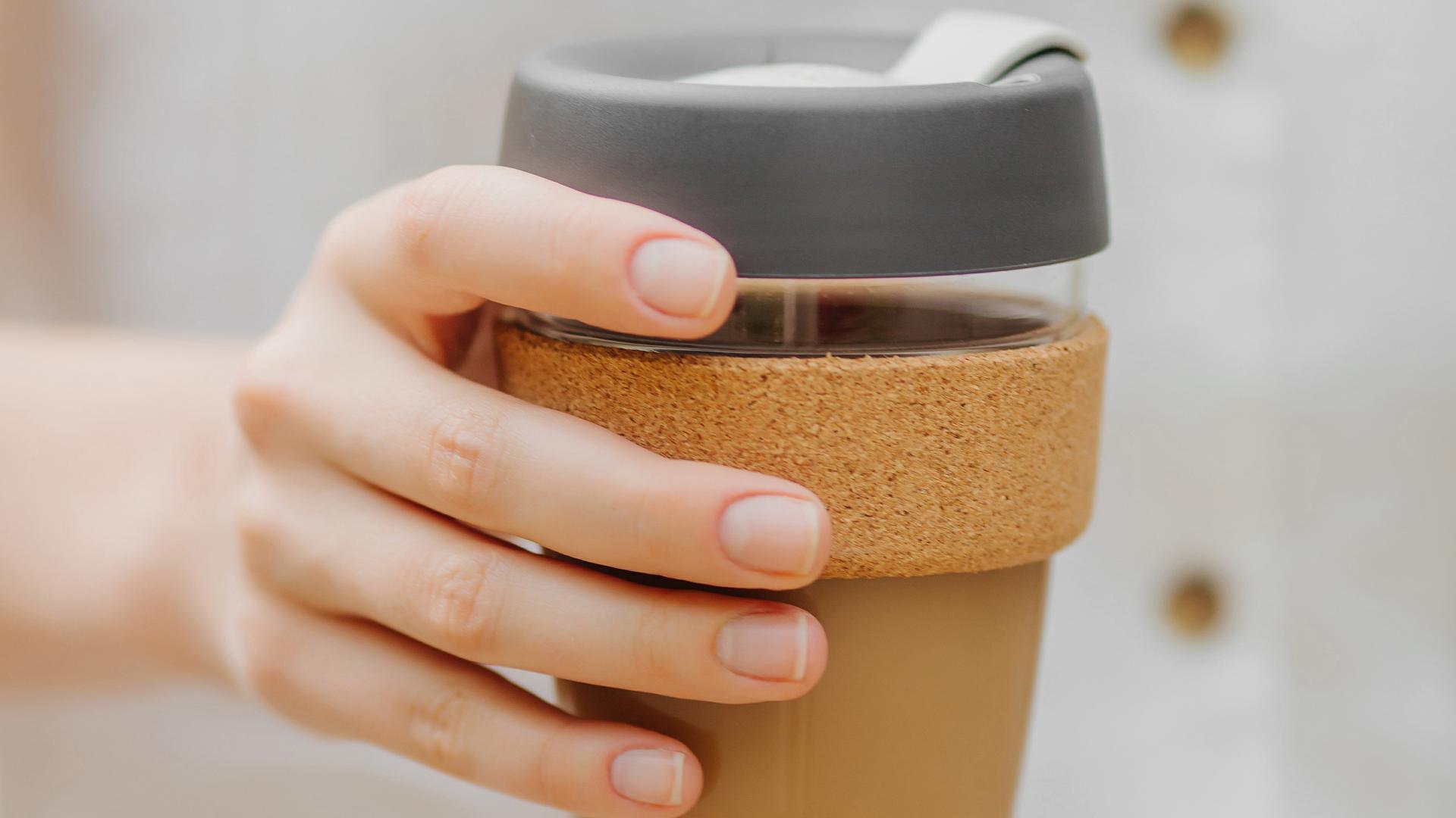 nachhaltige kaffeebecher glas