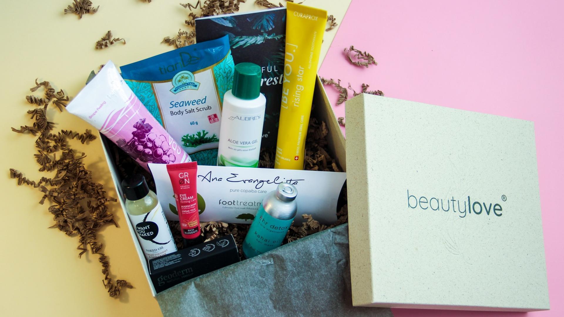 beauty love abo box natural nachhaltig natürlich