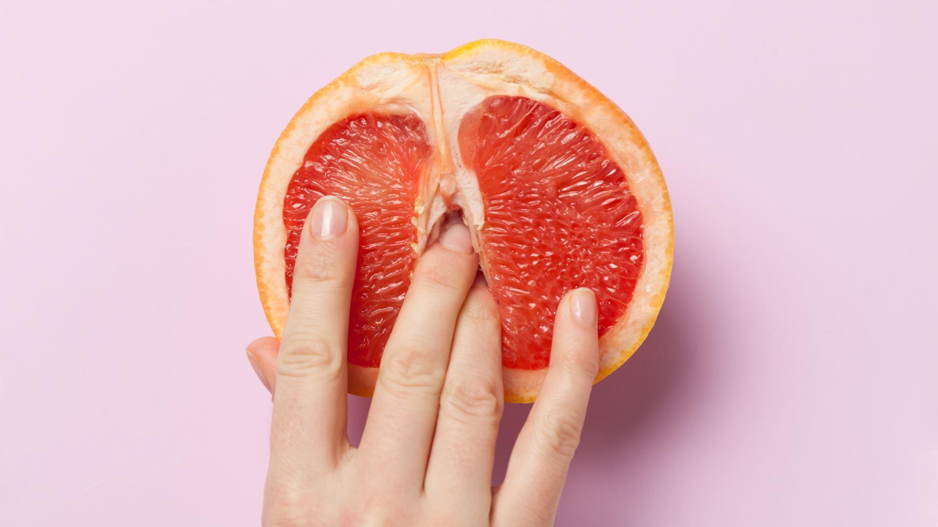 Frau Vagina Fruit