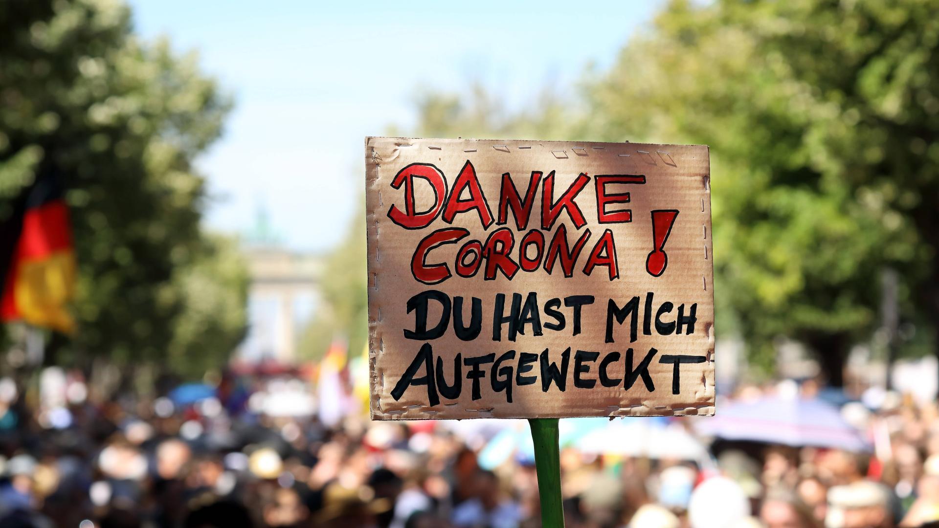 Demonstration Corona