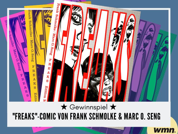 gewinnspiel freaks netflix comic combücher gewinnen