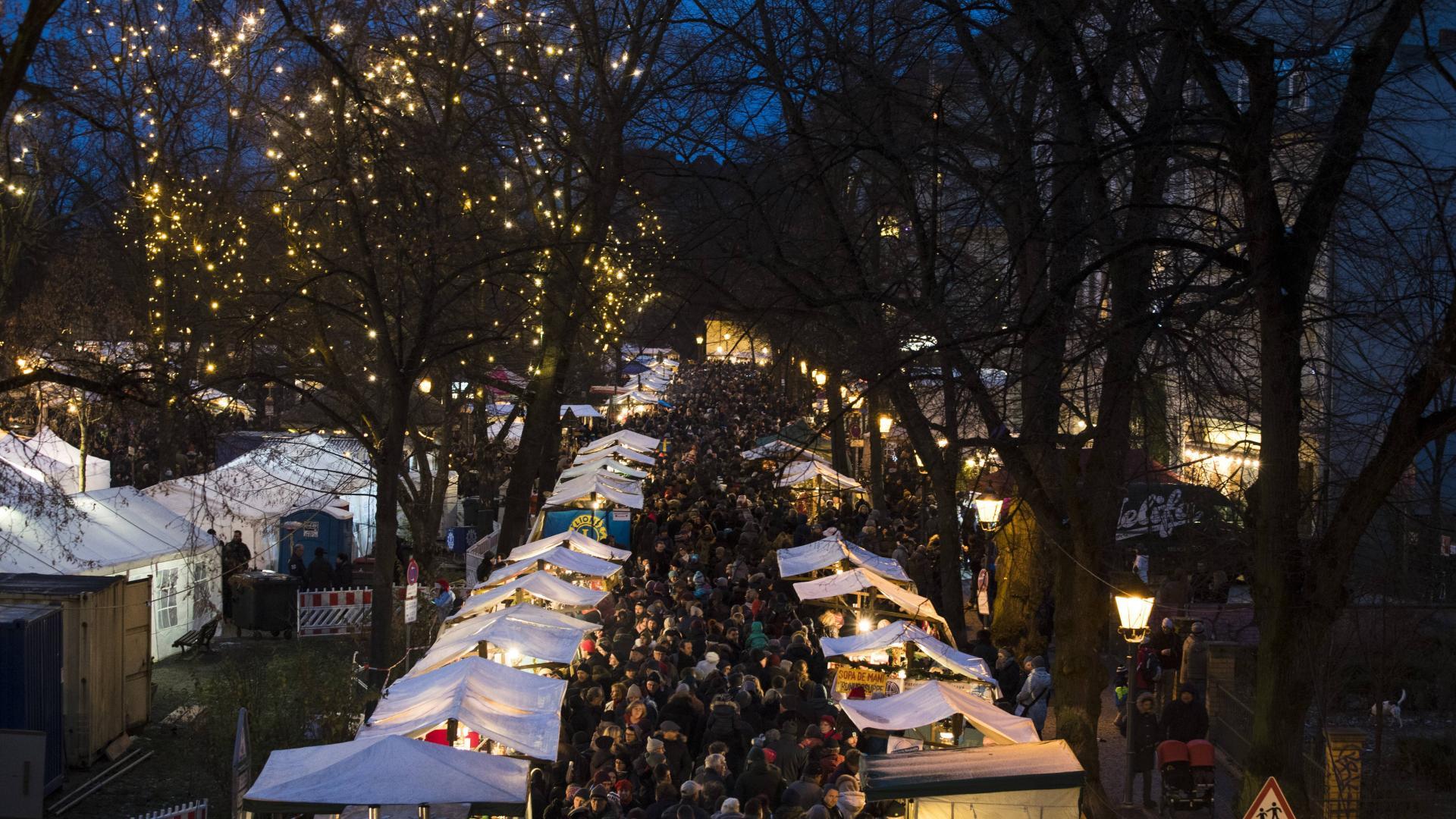 Alt-Rixdorfer Weihnachtsmarkt Berlin