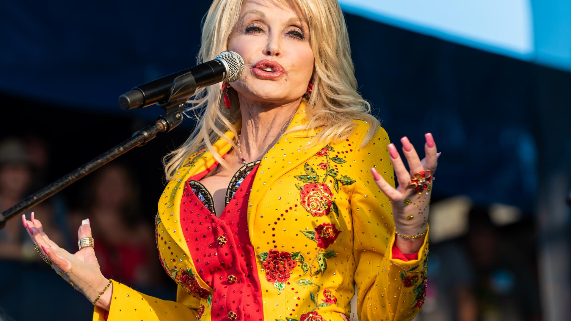 Dolly Parton Country Sängerin Bühne