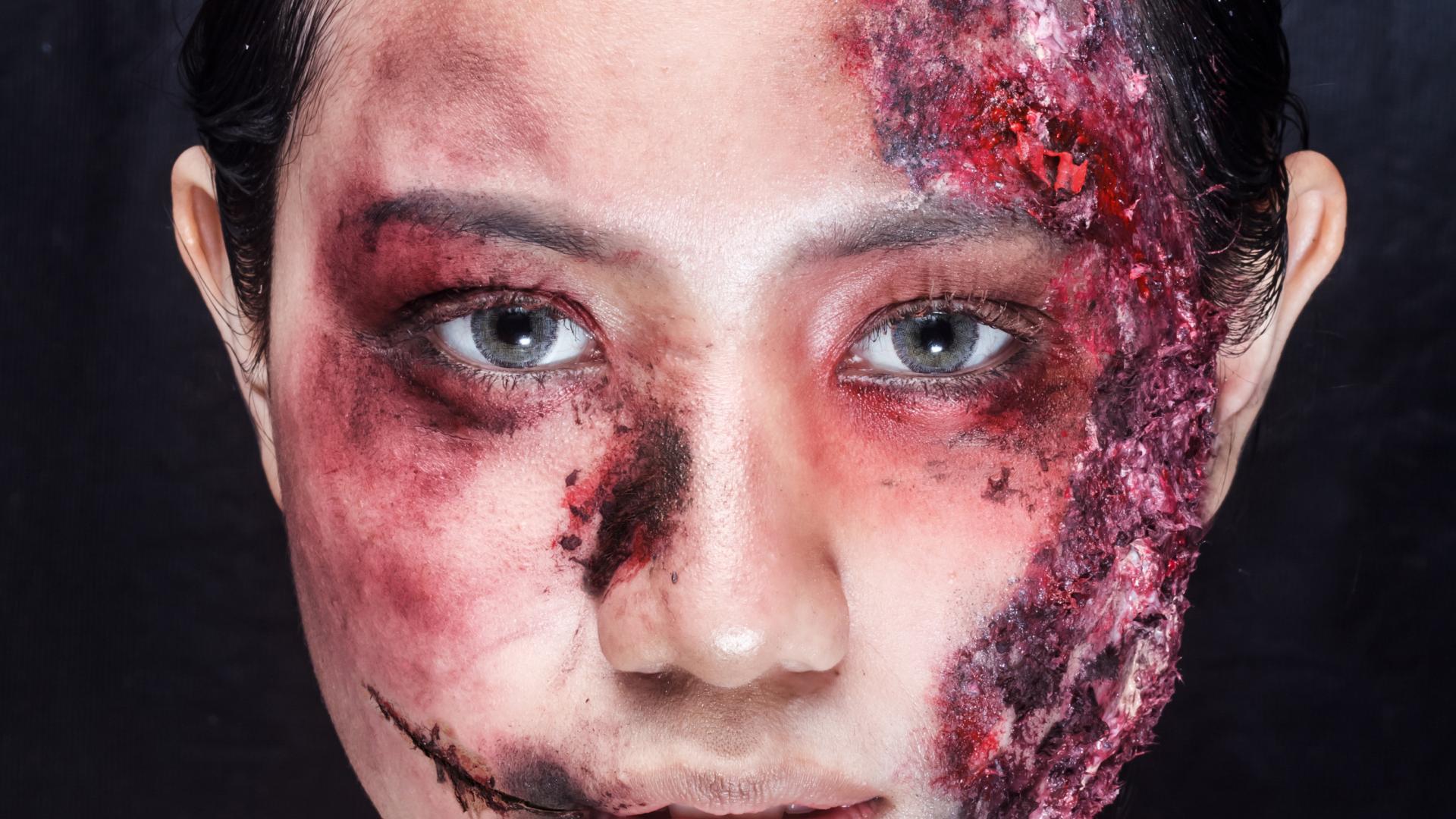 Halloween Zombie Schminkideen
