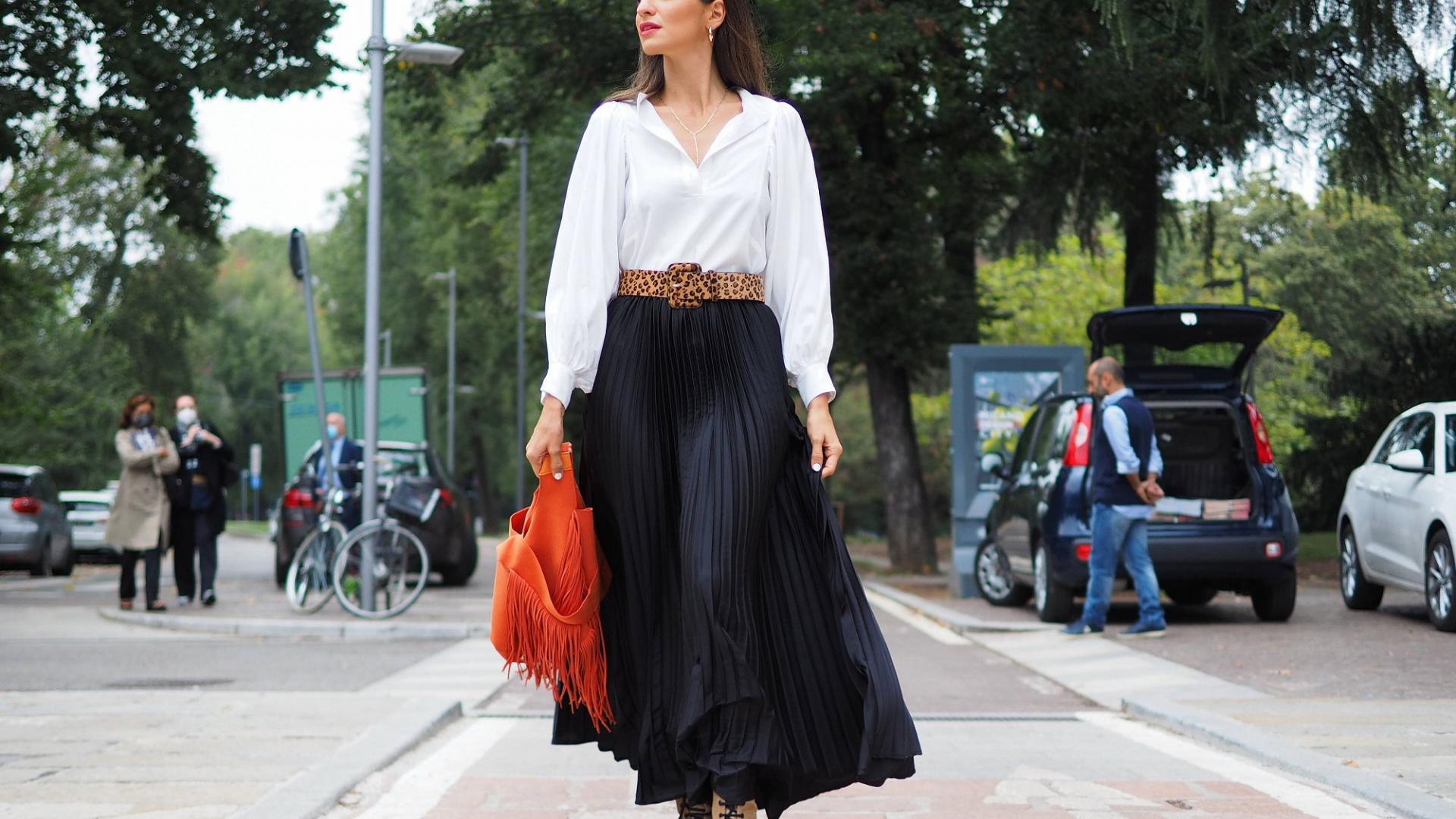 Mailand Fashionweek, Streetstyle