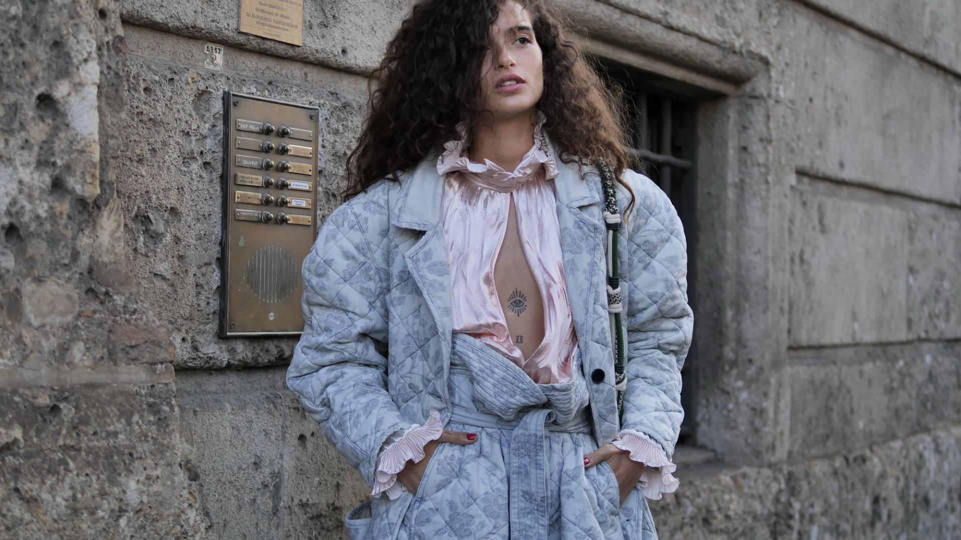 Mailand Fashionweek, Streetstyle, Model, Chiara Scelsi