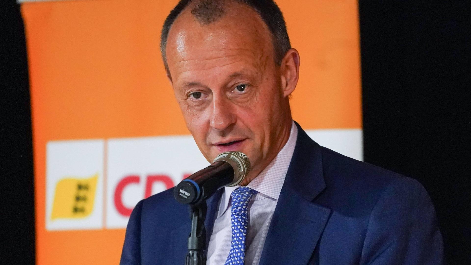 Friedrich merz CDU