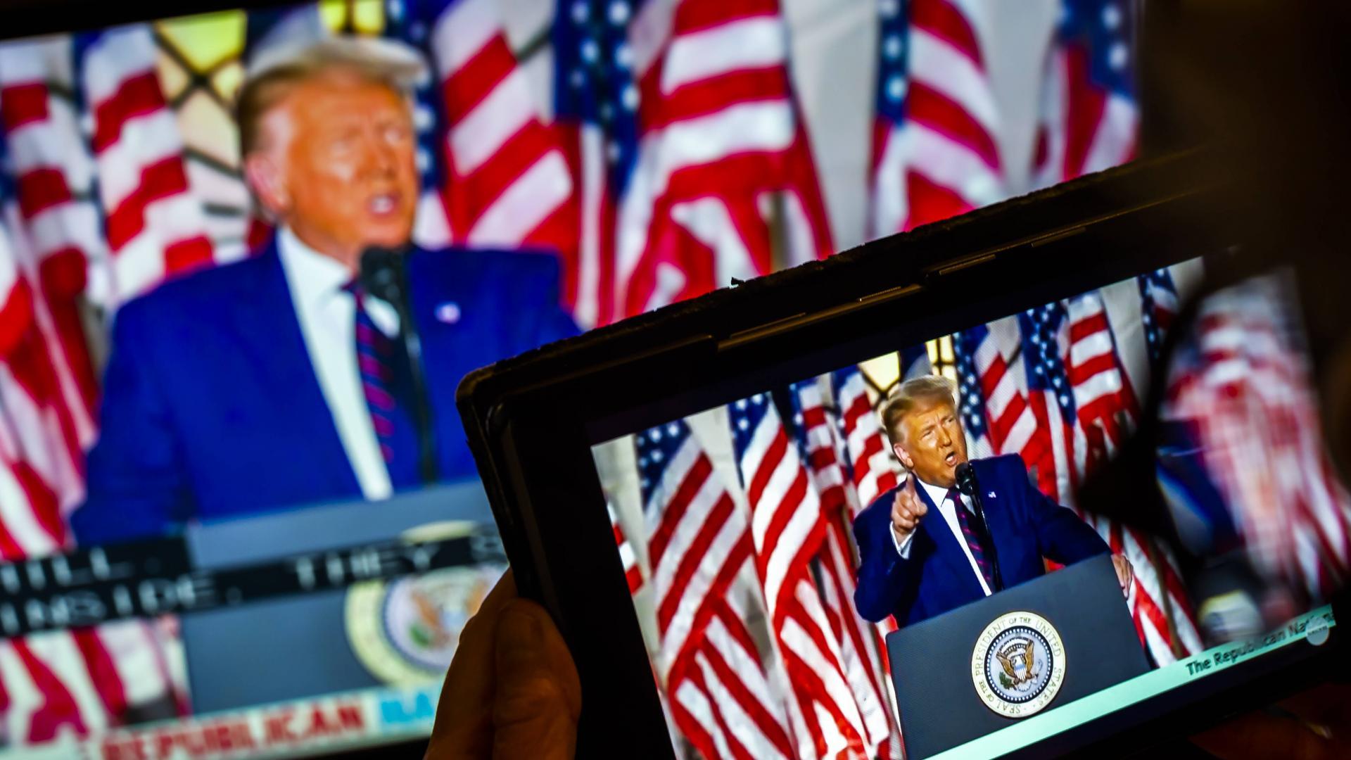 Donald Trump computer