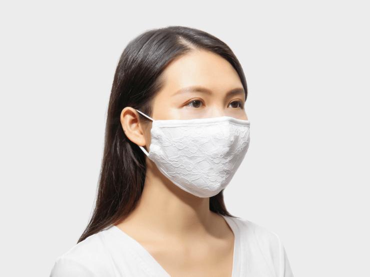 Hochzeitsmaske, Model, Maske