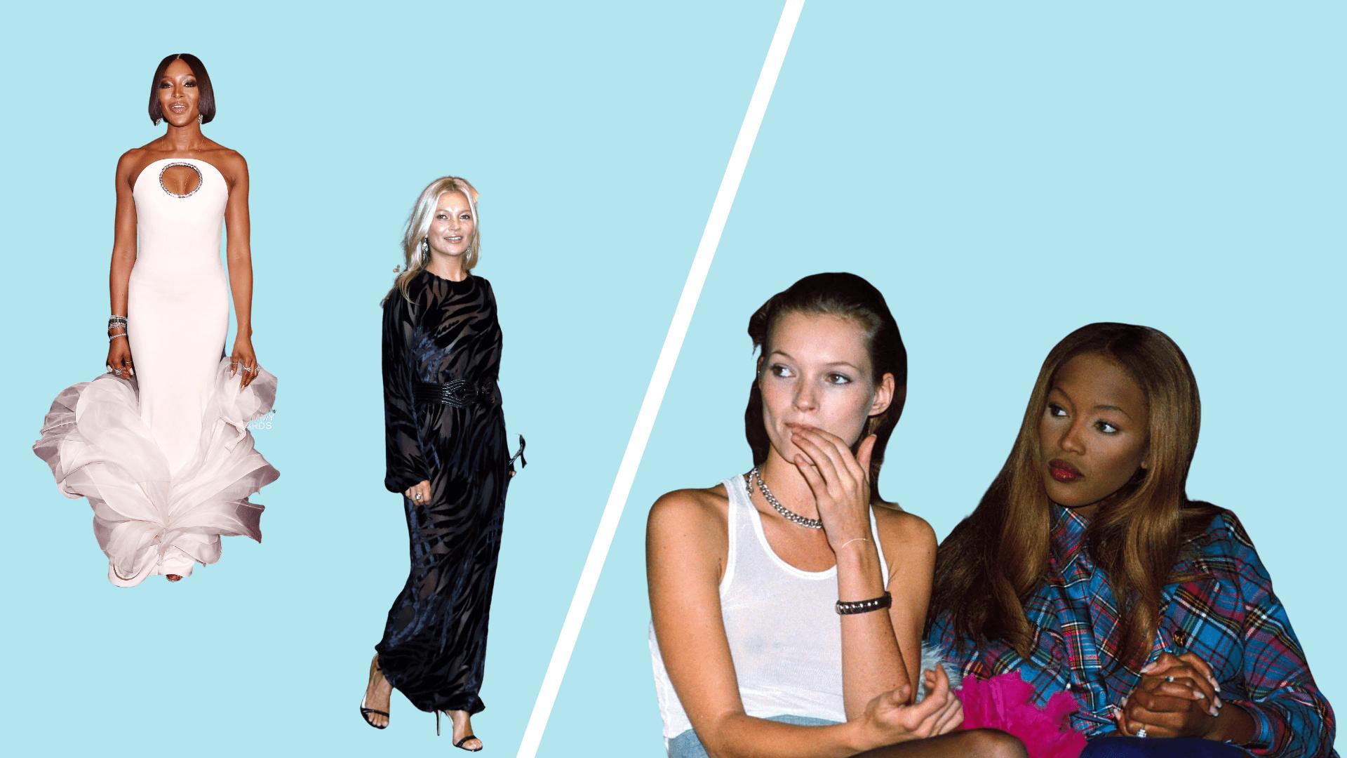 Naomi Campbell/Kate Moss