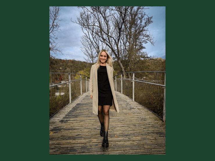 Dr. Martens Outfit, Strumpfhose, Becci Hartmann
