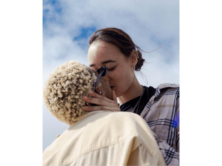 Beziehung auffrischen, Liebe, Kuss