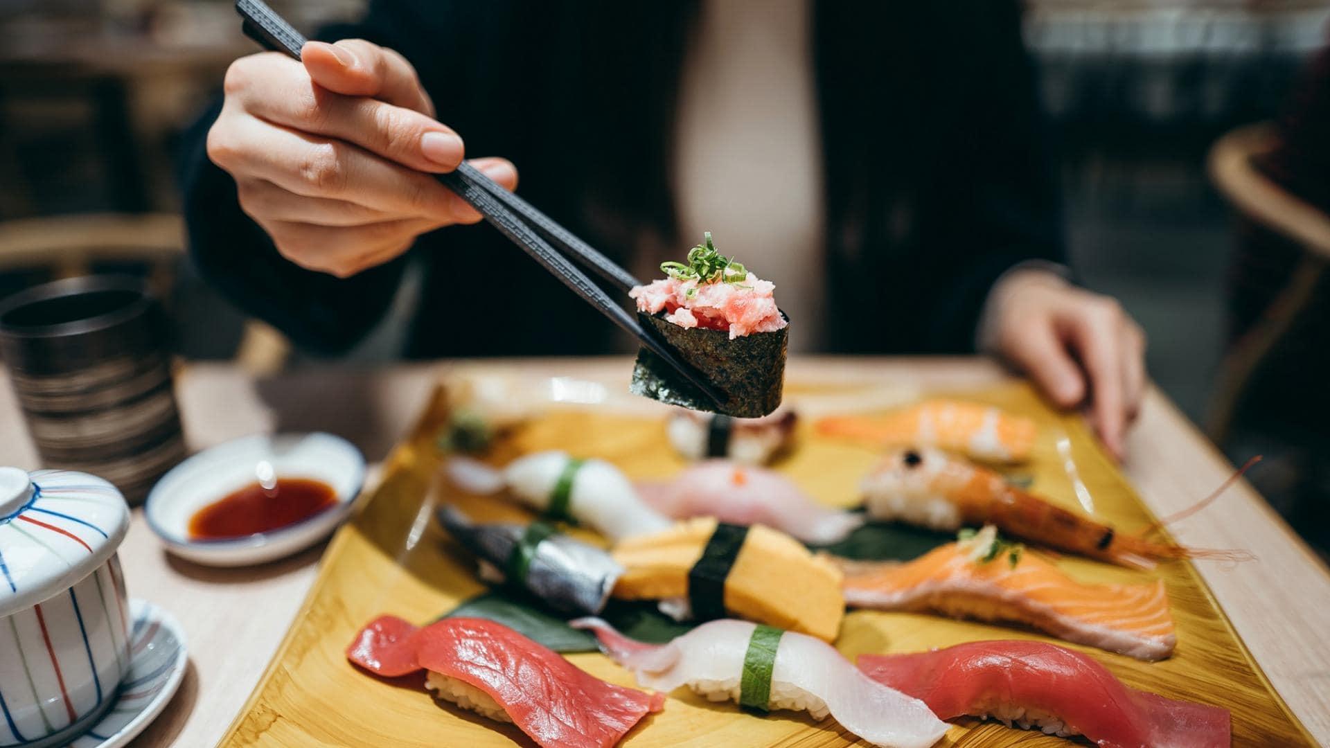 Thunfisch, Sushi