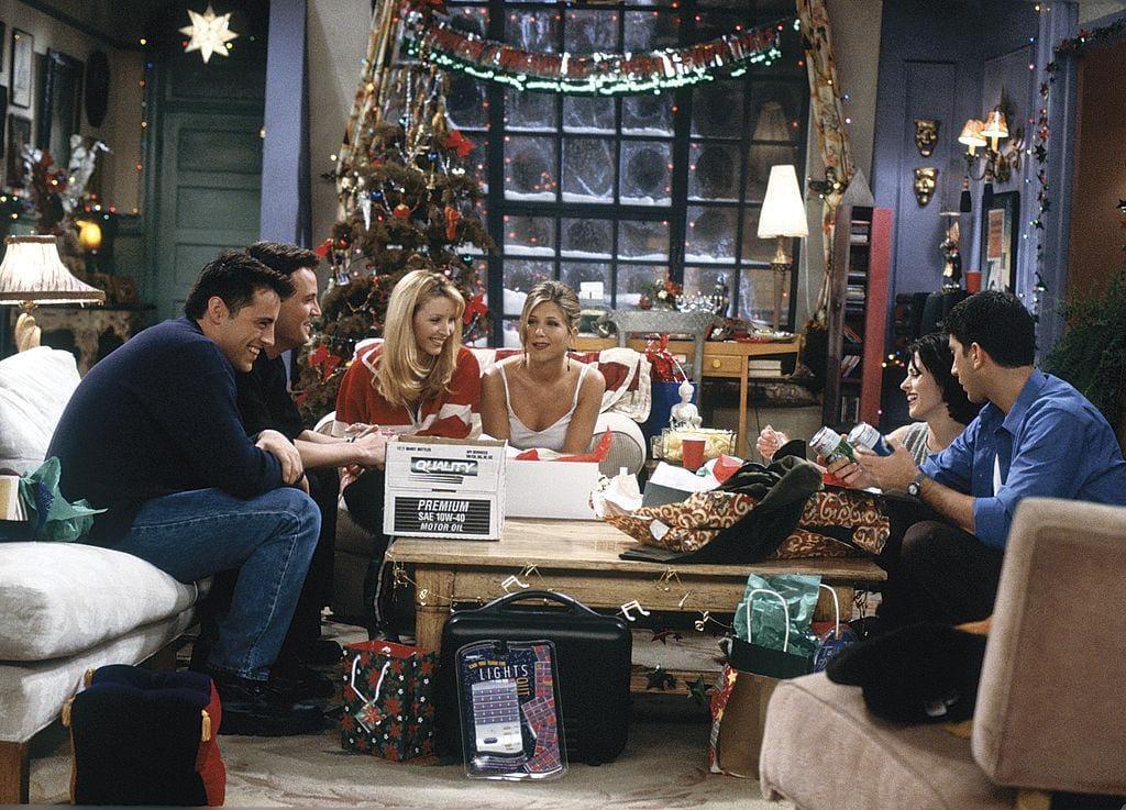 Weihnachten zuhause, friends, Serie