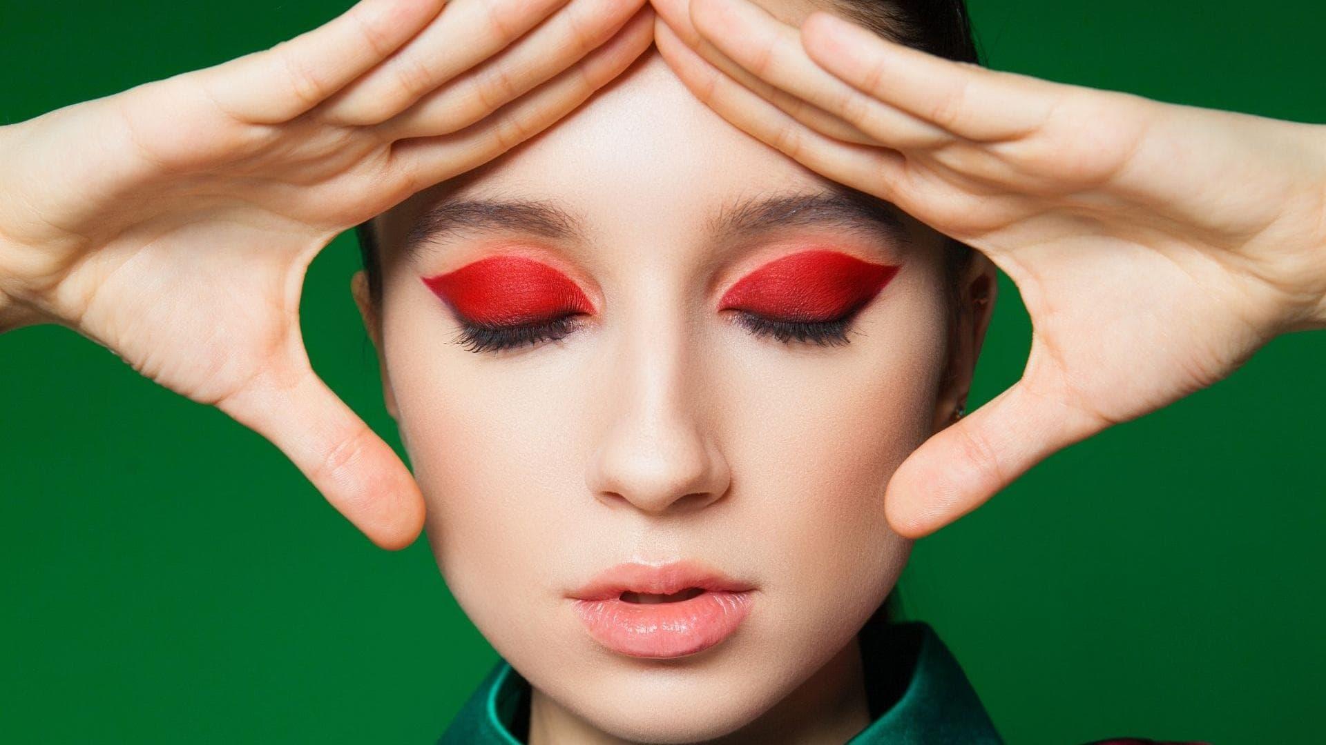Frau Make-up