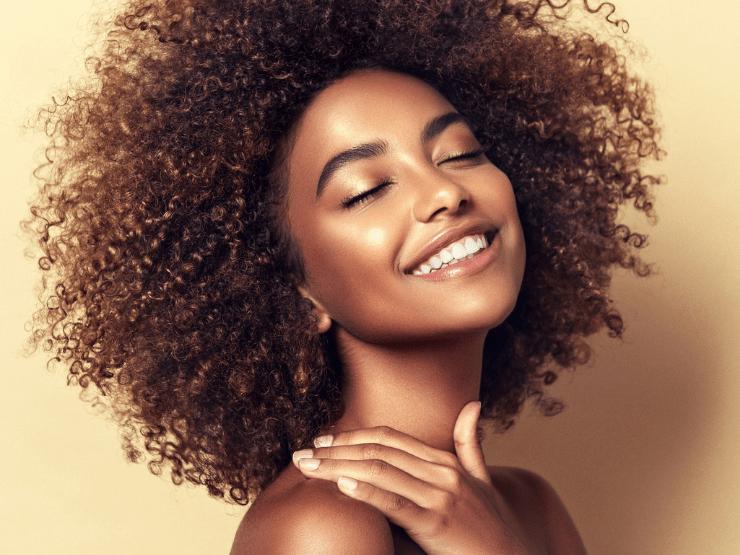 Silvester Make-Up, natürliches Make-Up, Glow