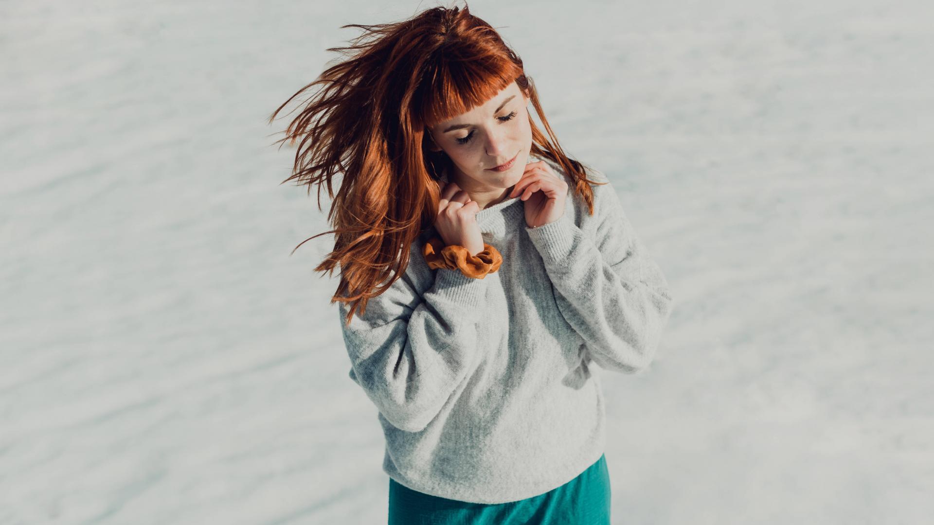 Frau Winter Haare