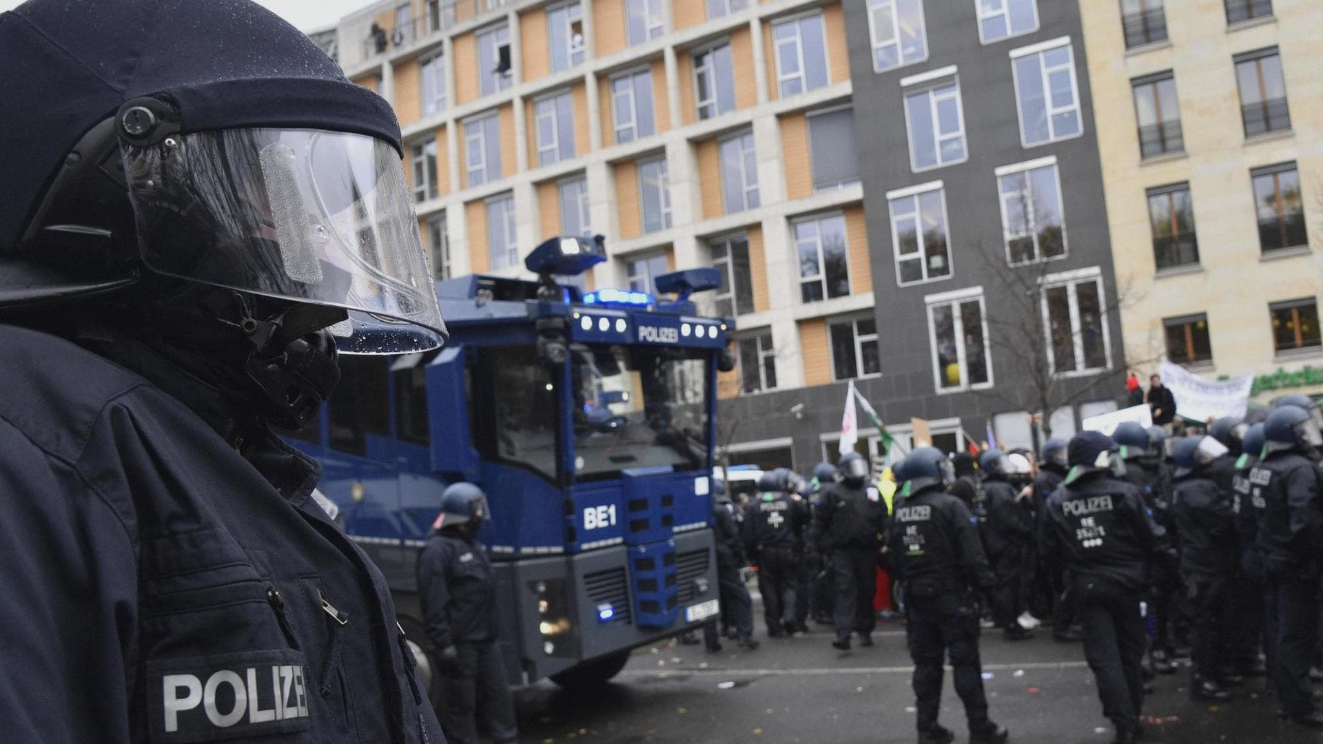 Polizei, Querdenkerdemo, Berlin