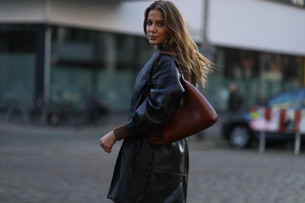 Fashion-Trends 2021, Ledermantel