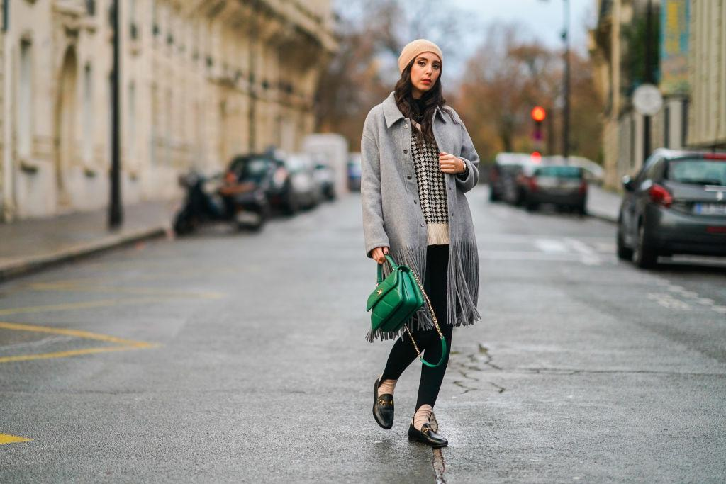Fashion-Trends 2021, Fransen, Mantel