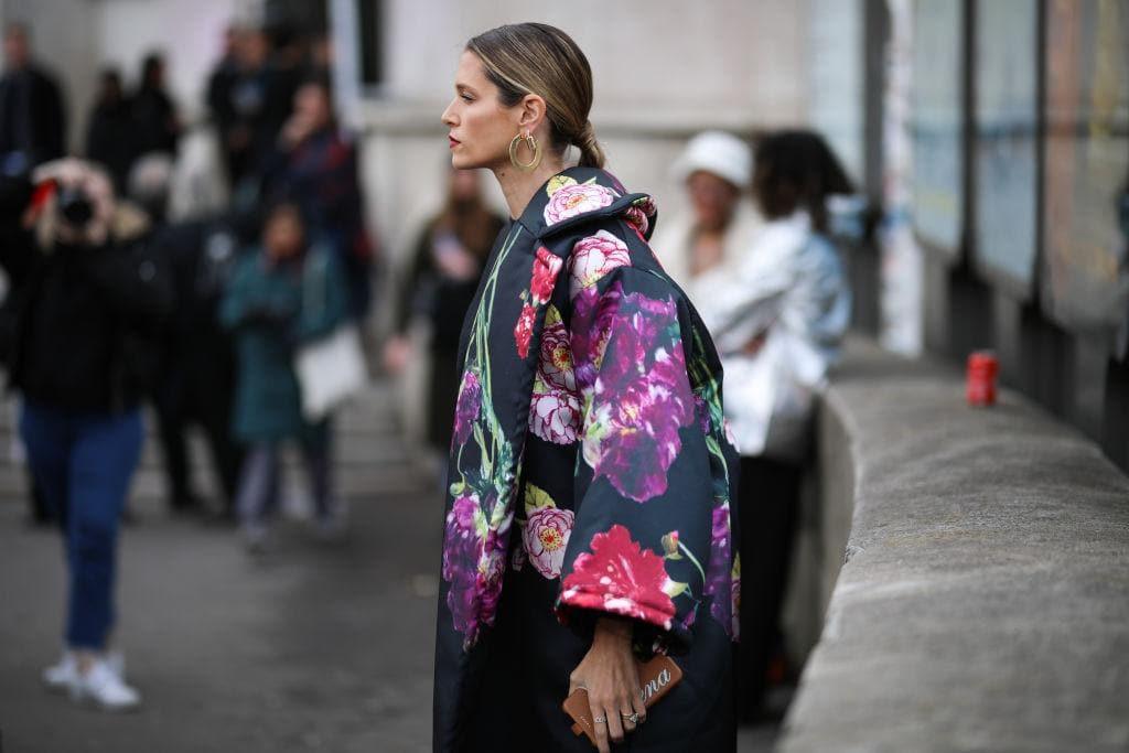 Fashion-Trends, Blumenprint