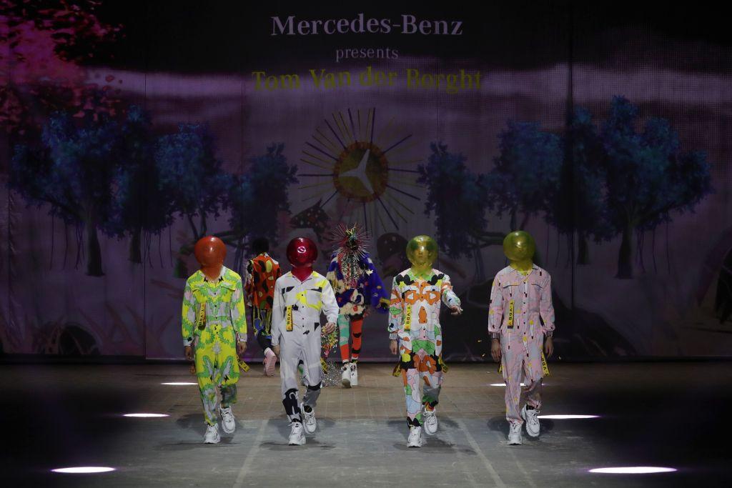 Fashion Week Berlin 2021,Tom Van Der Borght