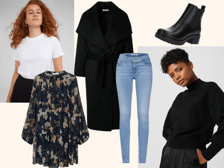 Capusule Wardrobe, Collage, Outfits