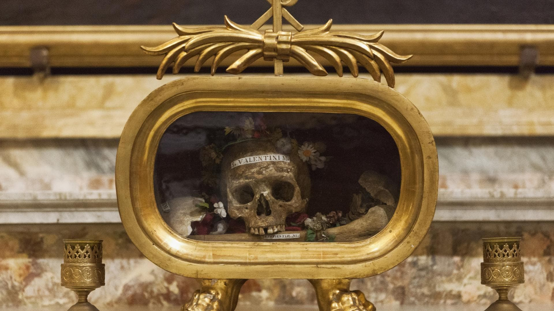 Der Heilige Valentin von Rom