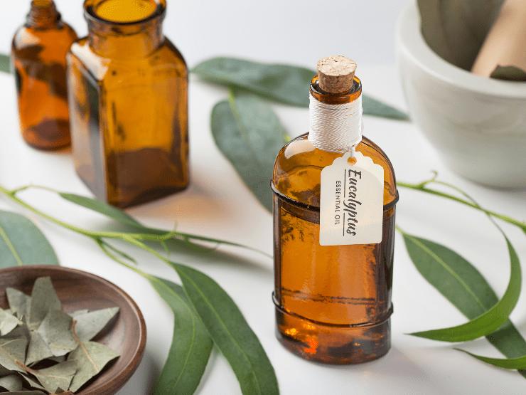 massageöl entspannung eukalyptus
