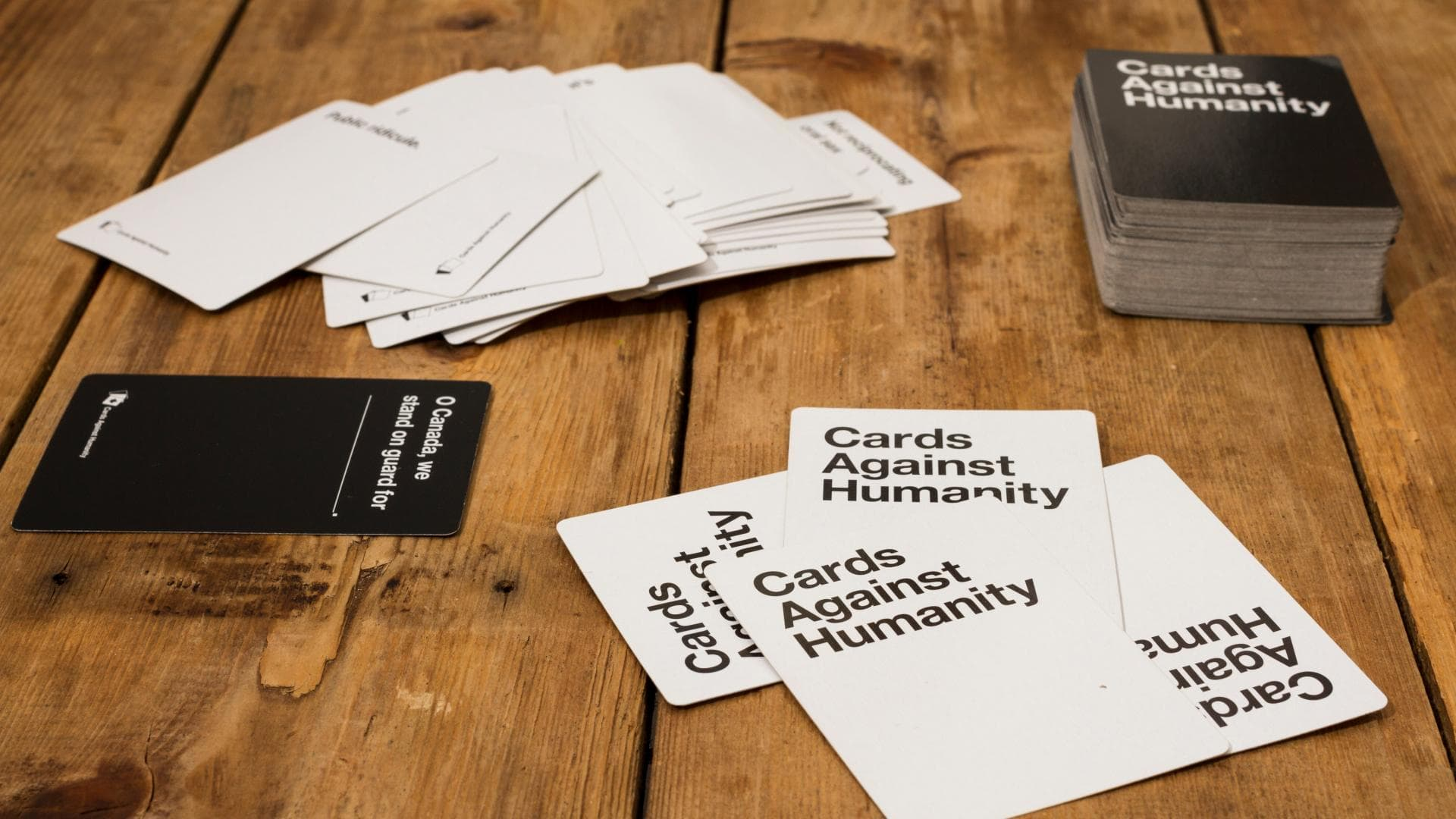 cards agains humanity tisch
