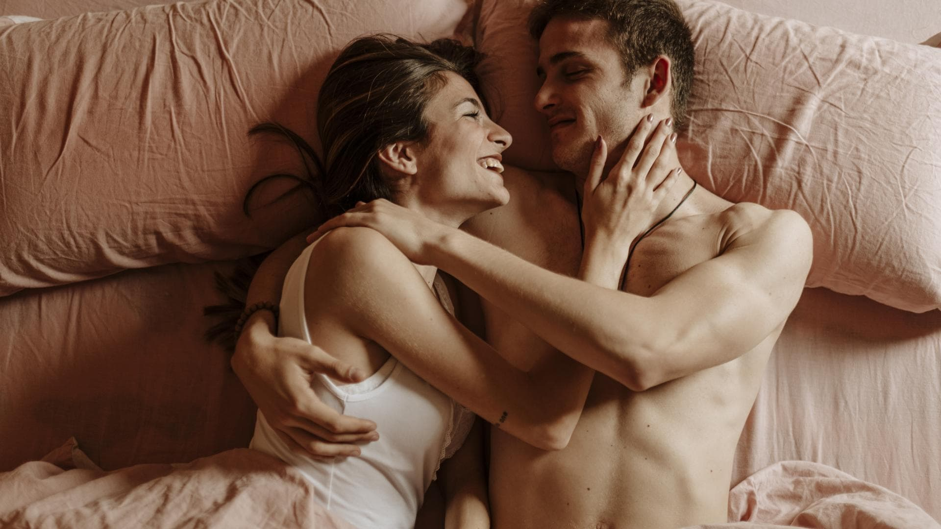 Paar Sex Kuscheln