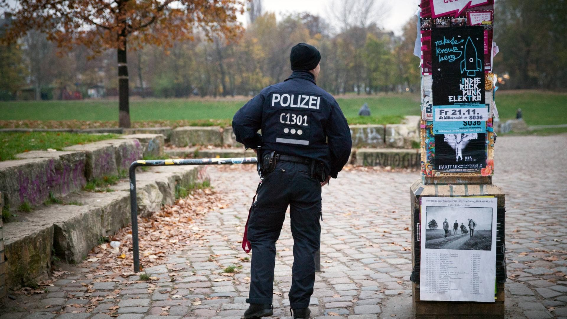 polizist görli berlin
