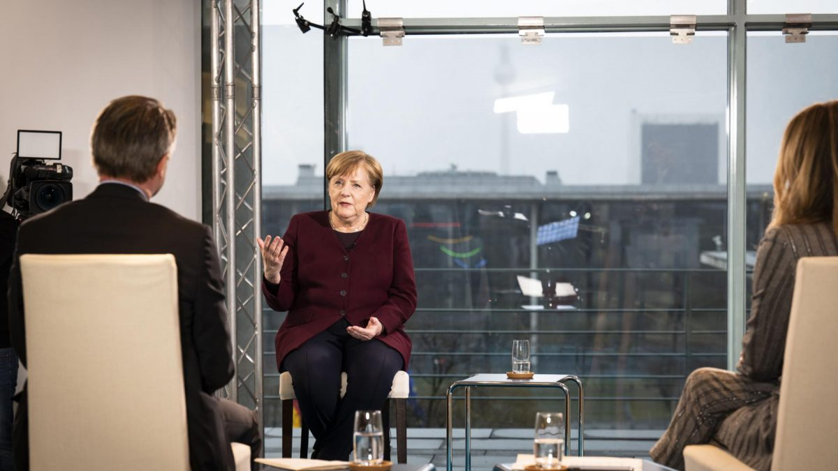 Angela Merkel im Interview