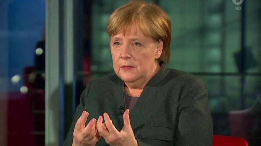 Angela Merkel in Farbe bekennen