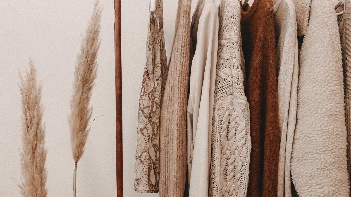 Capsule Wardrobe, kleiderstange