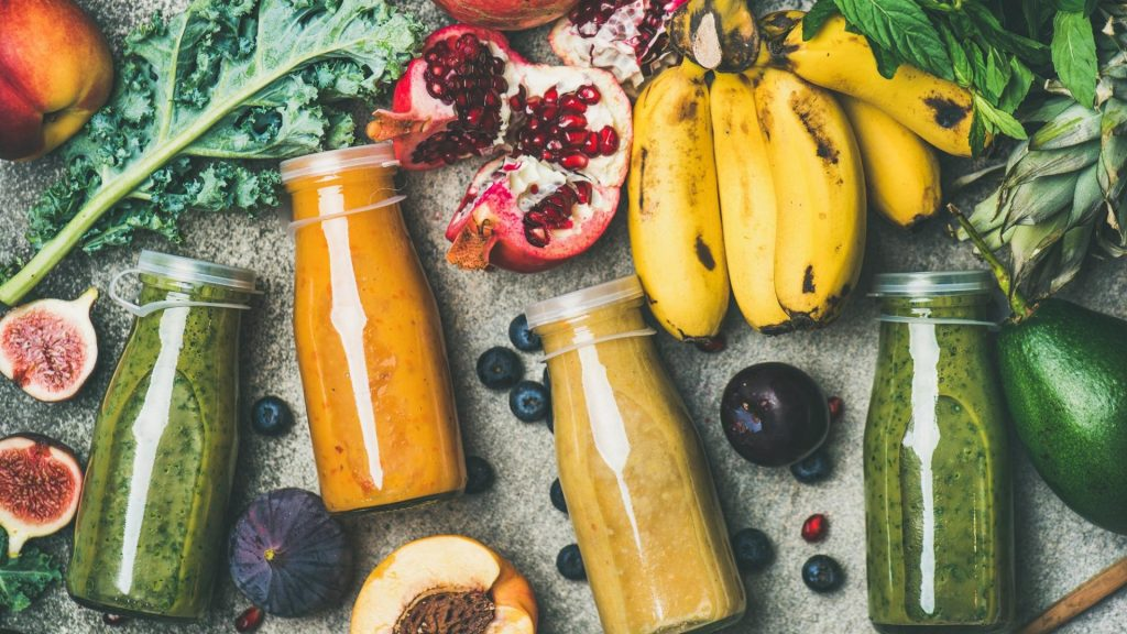 Smoothie, Gemüse, Obst, Superfood