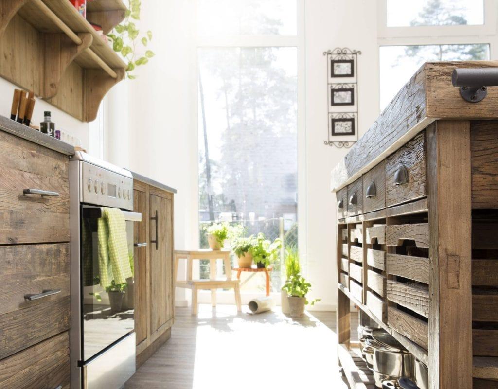 küche schublade holz haus interior design