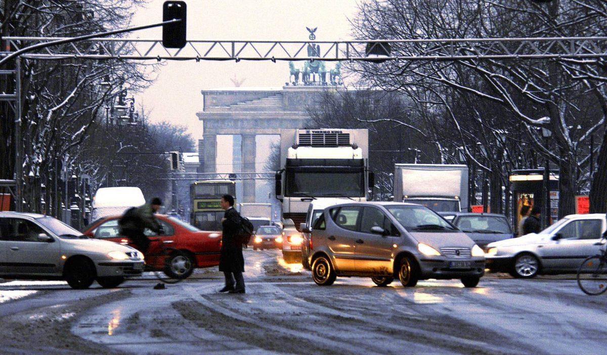 Verkehrschaos in Berlin