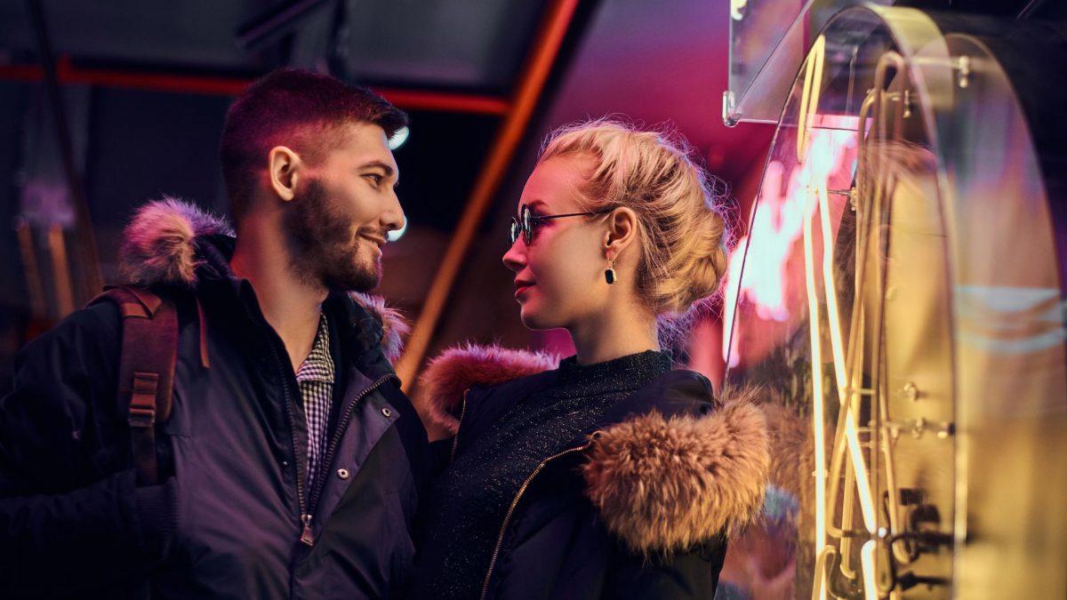 Pärchen Zweites Date Paar Fashion Hipster