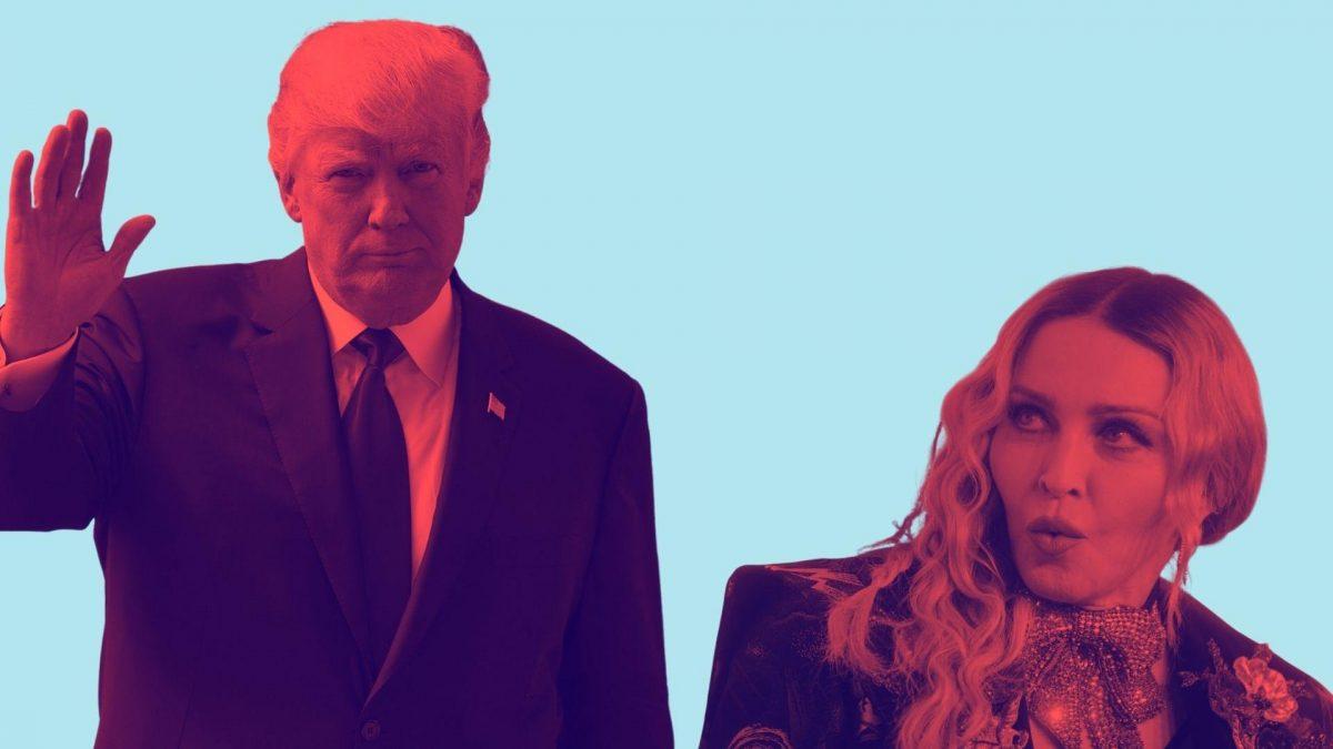 donald Trump und Madonna