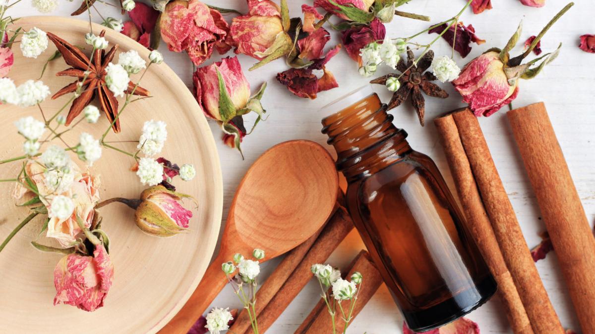 massageöl rose zimt
