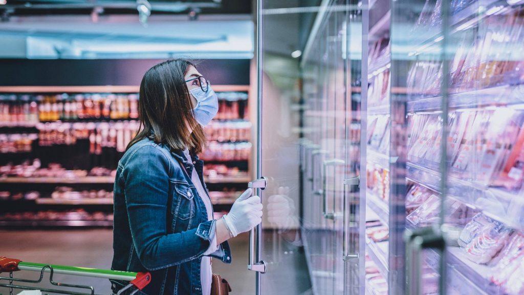 supermarkt fleisch wurst