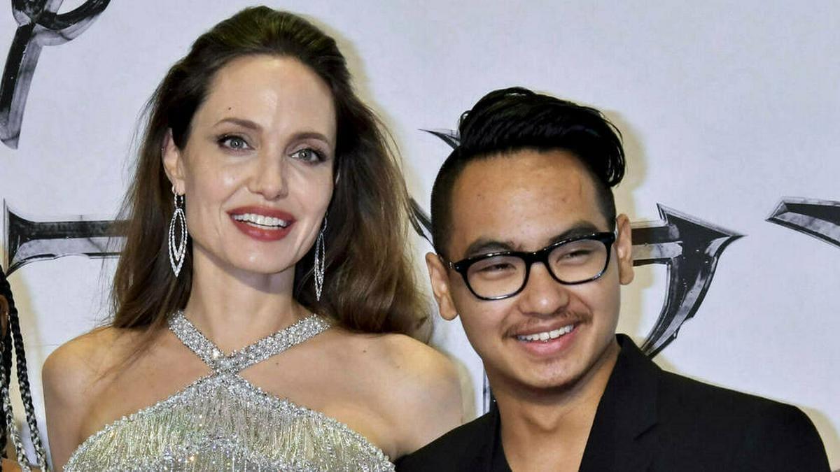 US-Schauspielerin Angelina Jolie adoptierte Maddox im Jahr 2002.. © imago images/Future Image