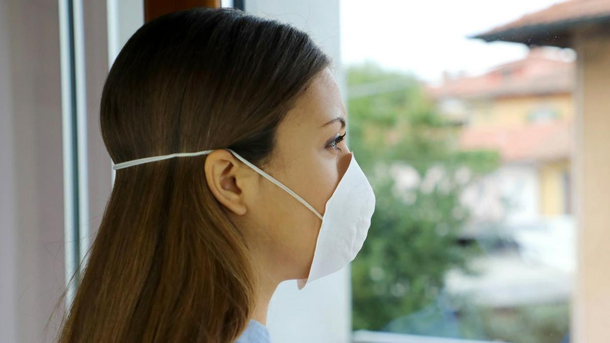 In der Corona-Pandemie leiden viele Menschen unter Angst.. © Zigres/Shutterstock.com