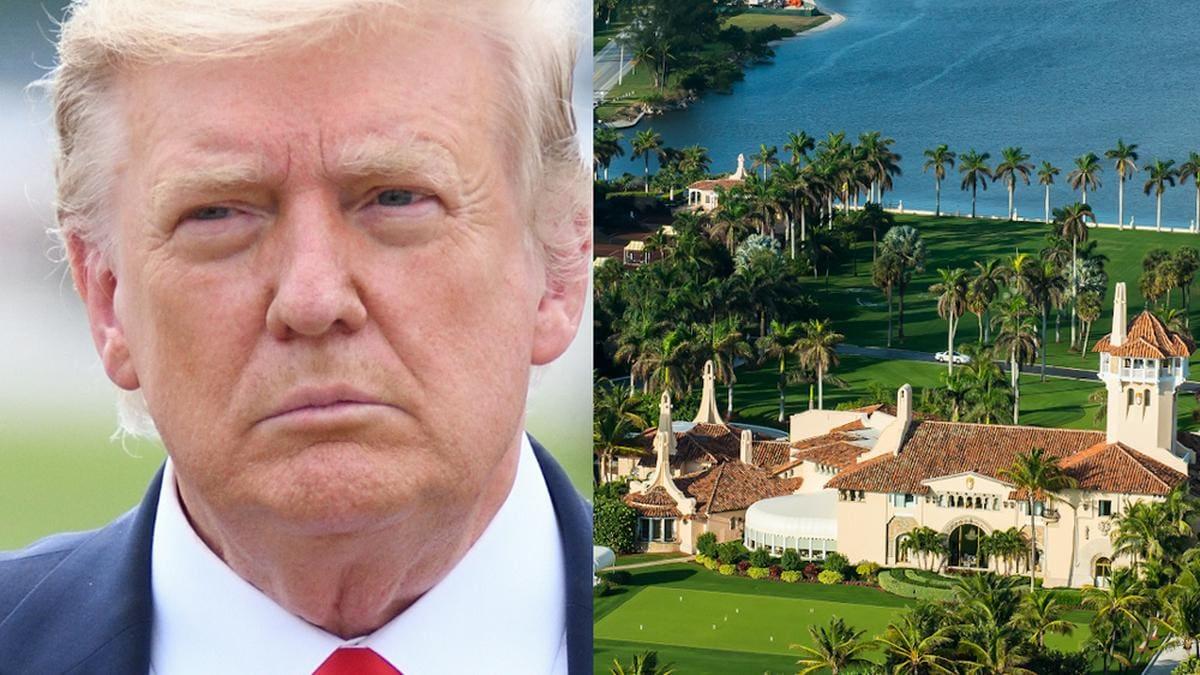 Donald Trump lebt seit dem Auszug aus dem Weißen Haus in seinem Luxusresort in Palm Beach.. © Evan El-Amin/shutterstock.com; FloridaStoc/shutterstock.com [M]