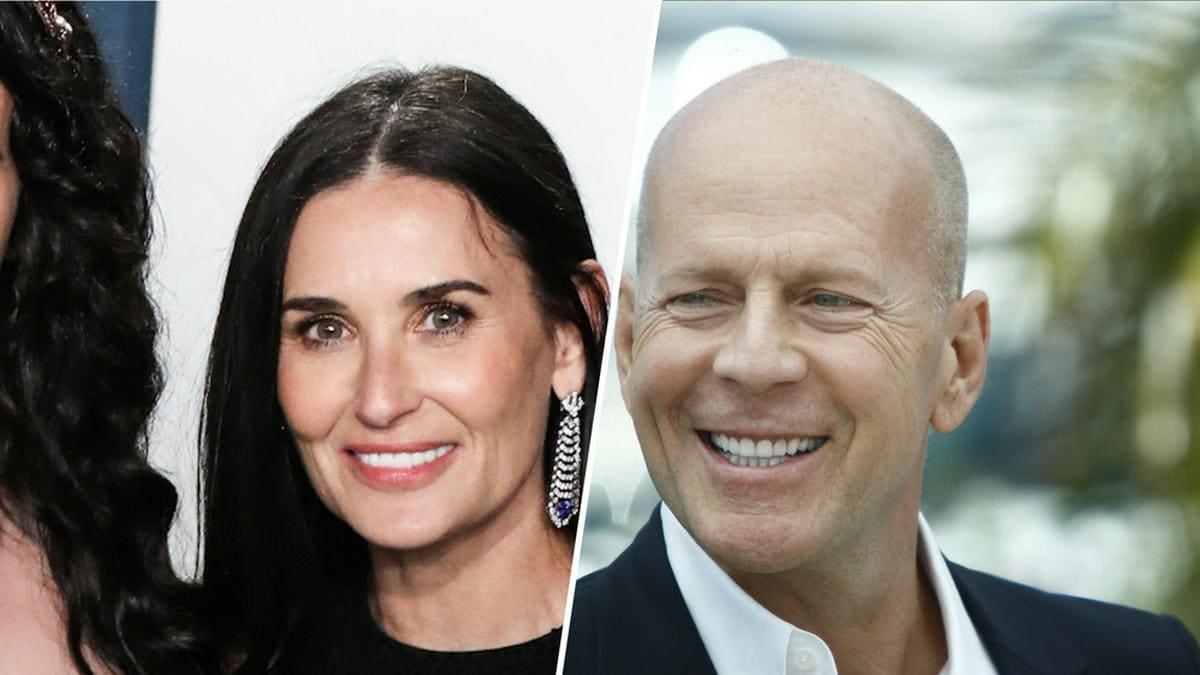 Bruce Willis und Demi Moore waren von 1987 bis 2000 verheiratet.. © [M] Xavier Collin/Image Press Agency