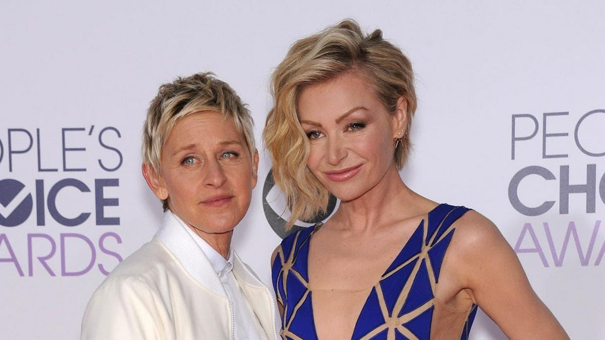 Ellen DeGeneres und Portia de Rossi (re.) sind seit 2008 verheiratet.. © DFree / Shutterstock.com