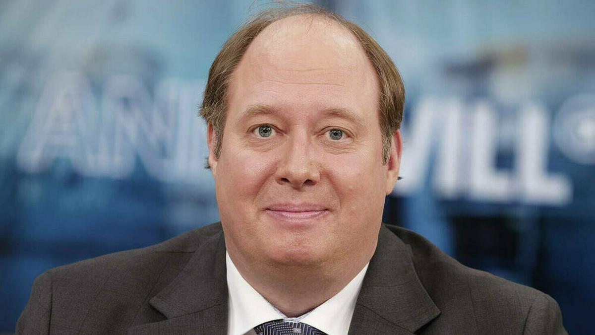 Helge Braun bei einem TV-Auftritt. © imago images/Jürgen Heinrich